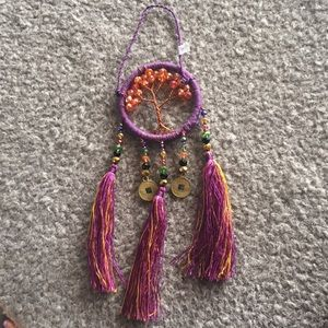 Dream Catcher, Healing Gemstones, Handmade